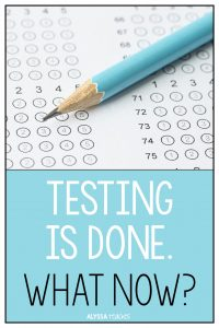 When state standardized testing is over, what do you teach? Grab some ideas for upper elementary students here!