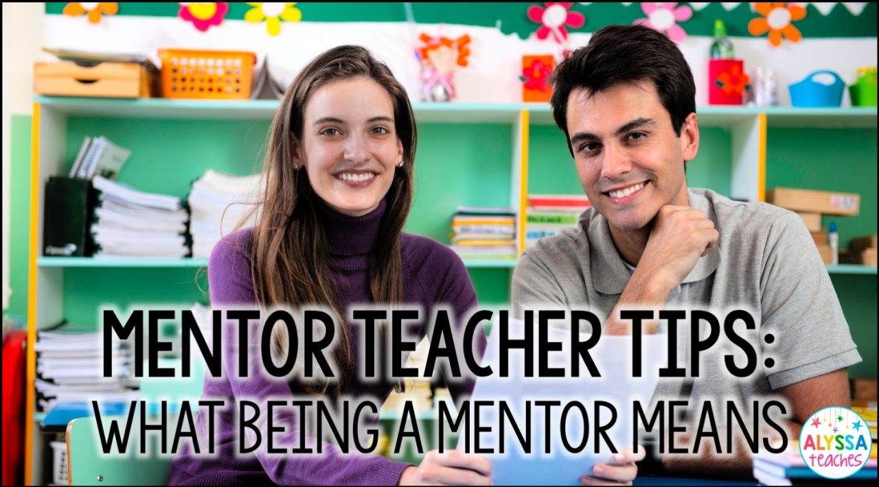 Are you a mentor teacher looking for tips? Check out this blog post to learn more about what it means to mentor a new teacher.