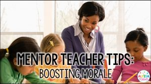 How do you support a new teacher when he/she is feeling all the teacher stress? Grab some quick tips to boost a first year teacher's morale!