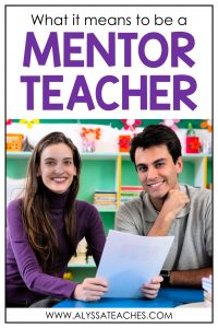 Are you a mentor teacher looking for tips? Check out this blog post to learn more about what it means to be a mentor teacher.
