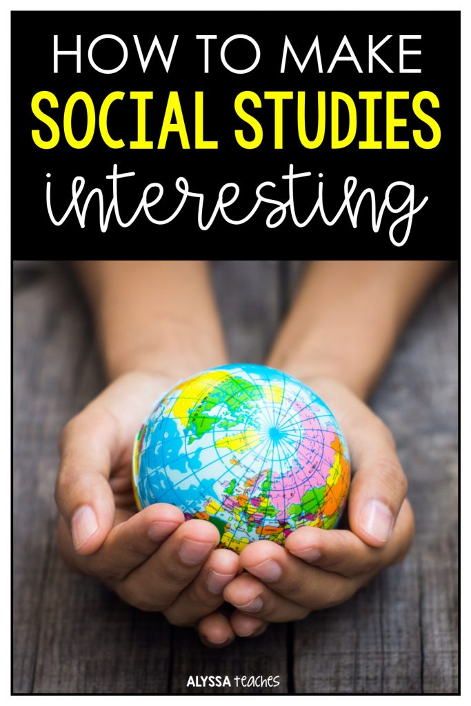 Today on the blog, I'm sharing some ways to make social studies more fun and engaging for 3rd, 4th, and 5th grade students!