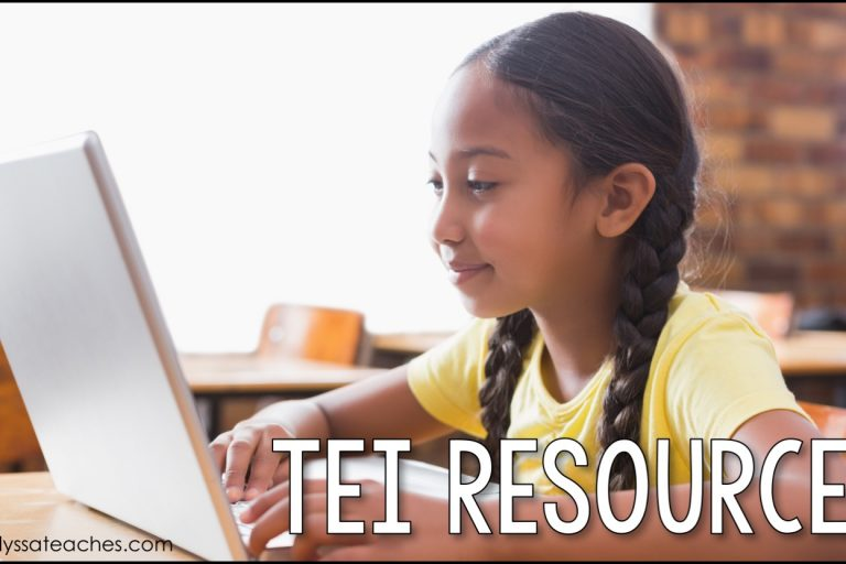 Find some great resources for students to practice TEI questions (technology enhanced items)!