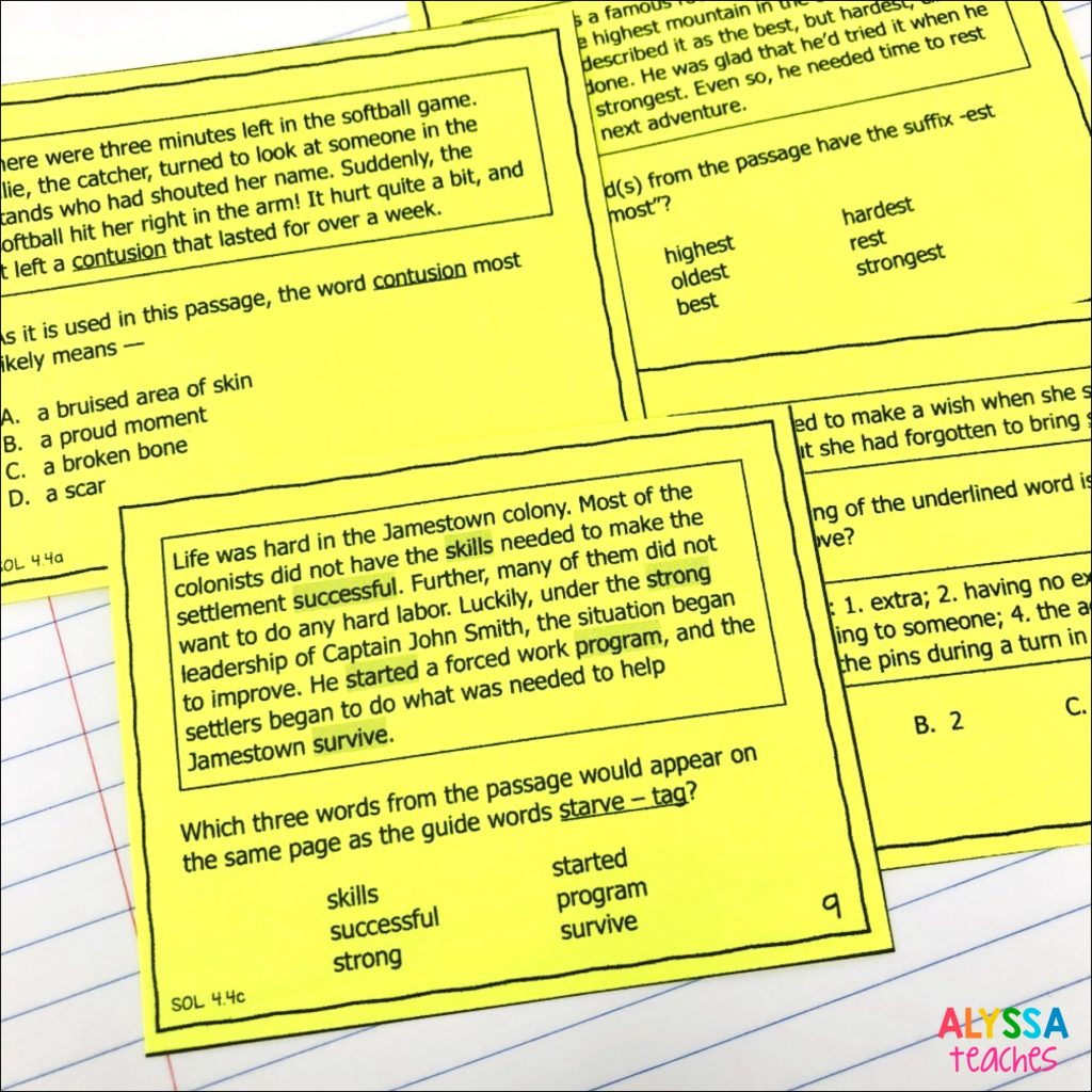 Word analysis task cards are great activities to add to your reading workshop in 3rd, 4th, or 5th grade!
