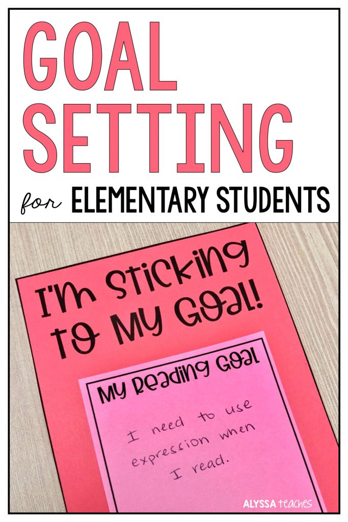 Here are some tips for helping elementary students make and reach their academic and personal goals. Plus some free goal setting sticky note templates!