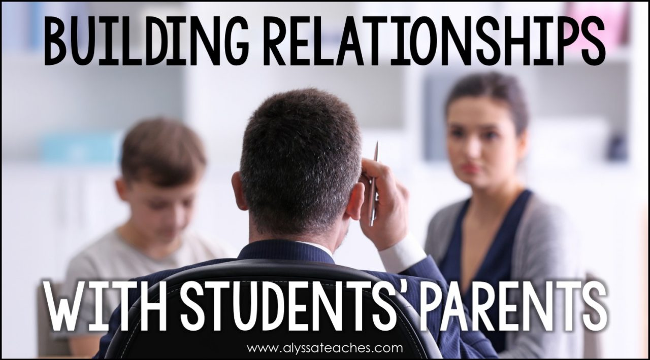 As a teacher, building relationships with your students' parents is key. Read on for some easy tips to develop a partnership with parents.