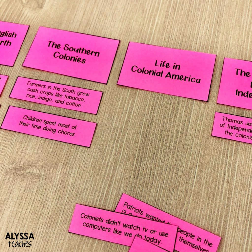 Sorting headings with sentences makes a great literacy station activity! Also helpful for reviewing nonfiction text features at test prep time!