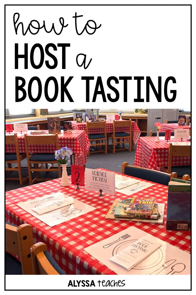 How to host a book tasting in your elementary school classroom or library