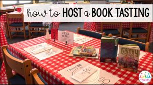 How to host a book tasting in your elementary classroom or school library