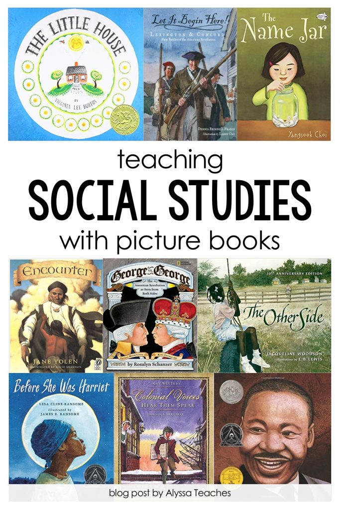 Use picture books to teach social studies in your elementary classroom!