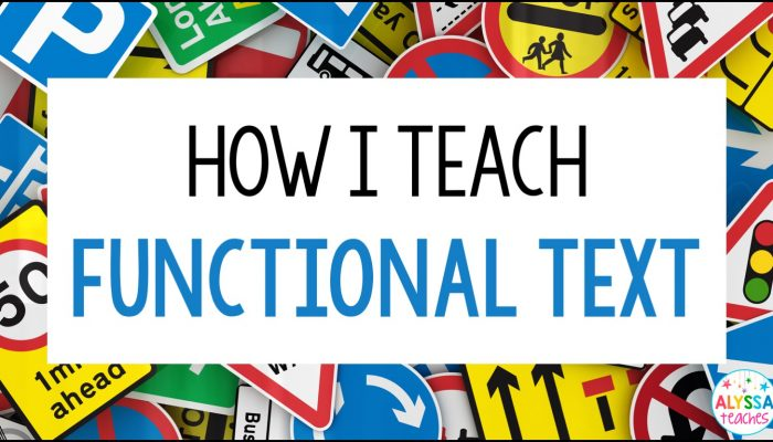 Functional text is an engaging genre that is easy to teach in your upper elementary classroom with these tips!