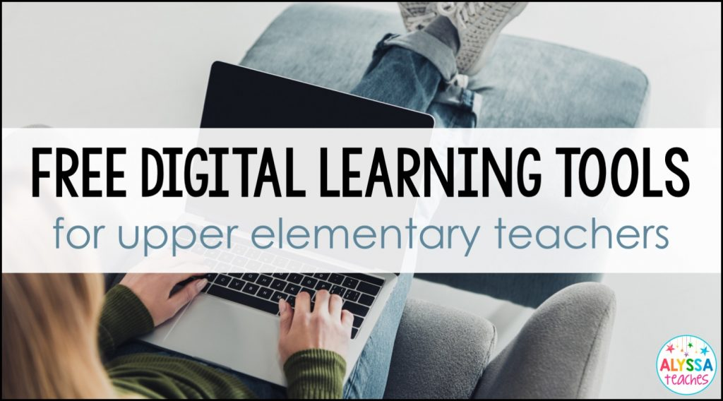Free digital resources teachers and families can use with 4th and 5th grade students when schools are closed for distance learning