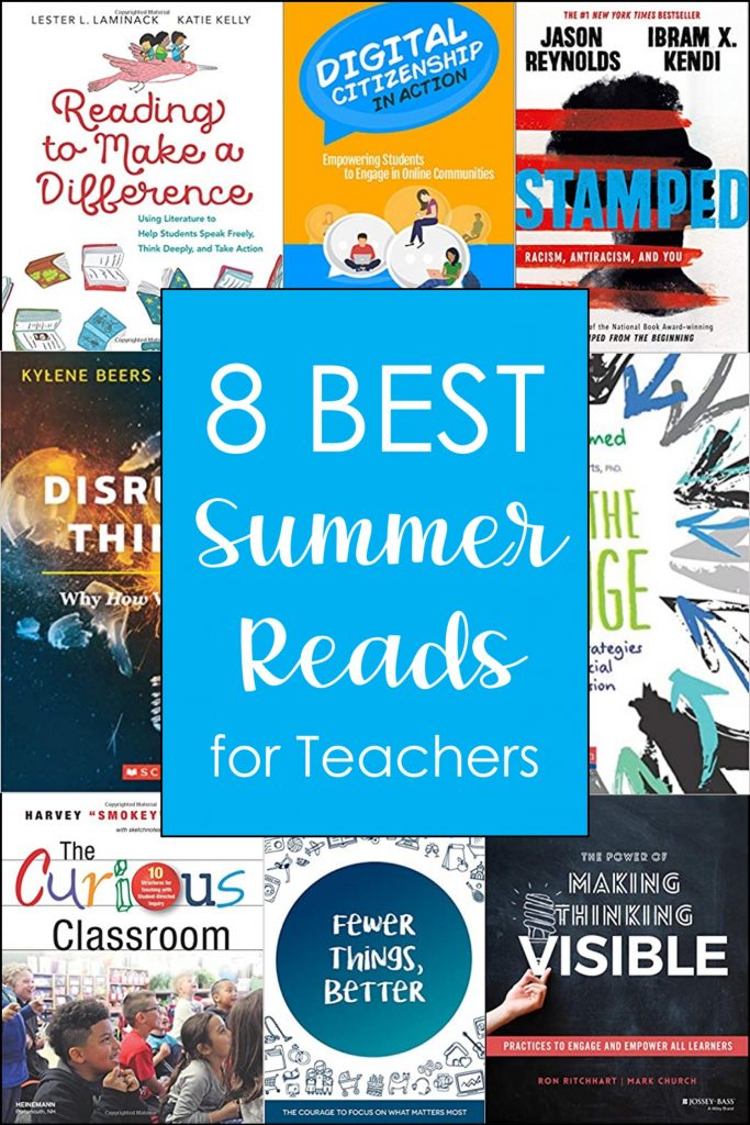 These teacher professional development books are great summer reads for any upper elementary educator!