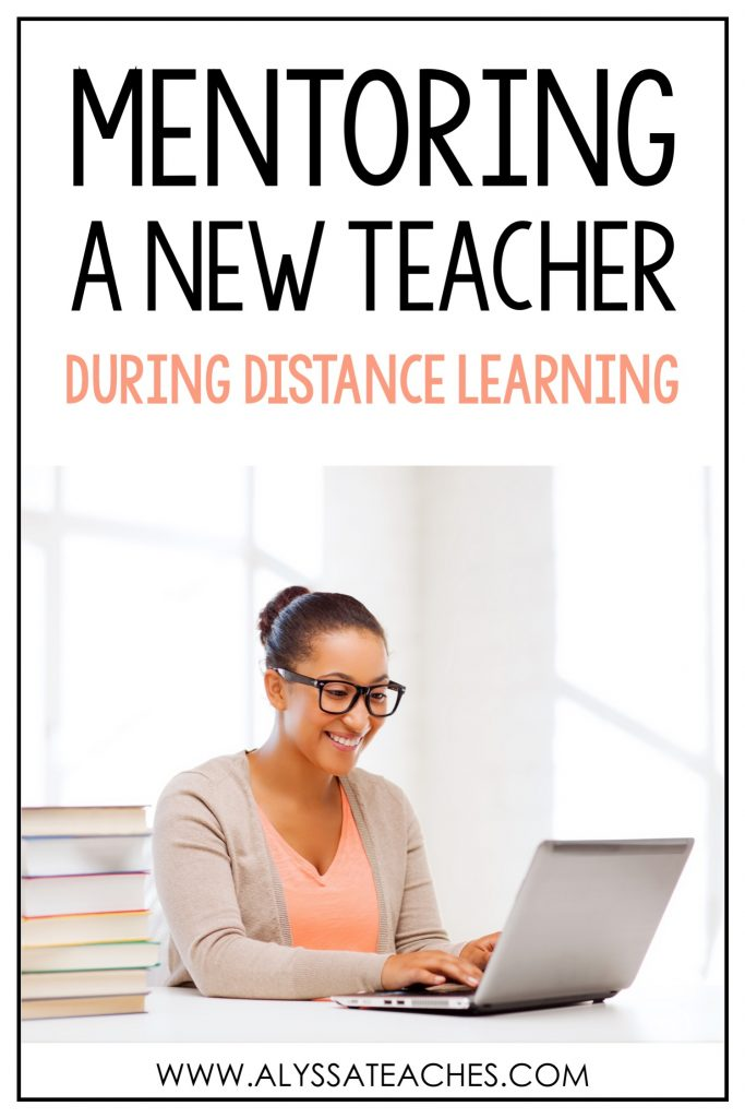 If you're a mentor teacher to a new teacher or an instructional coach, you need to check out these quick tips for what to do during distance learning!