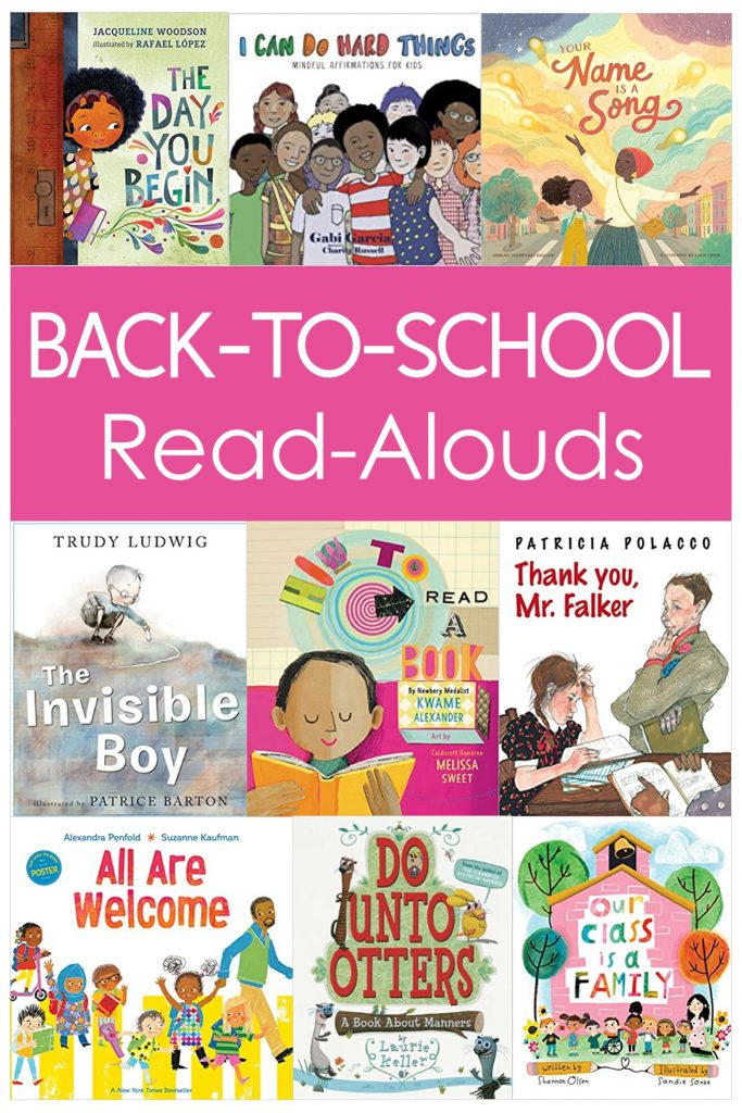 Grab these recommendations for back to school read aloud books for 3rd, 4th, and 5th grade!