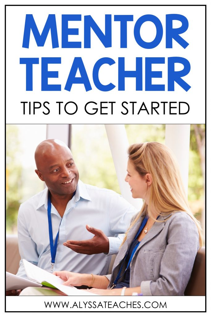 So many great ideas and tips to get started working as a mentor teacher!