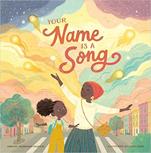 back to school read alouds for elementary classrooms: Your Name Is a Song