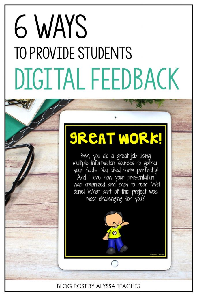 These tips are super helpful for providing students feedback in online and virtual learning environments!