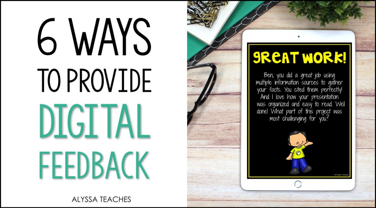 Teaching virtually? There are still lots of ways to provide students digital feedback!