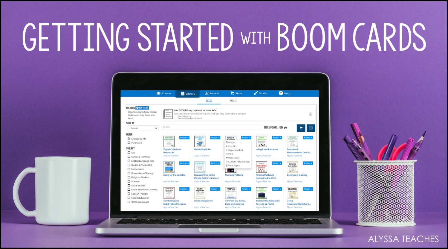 This tutorial will help you get started using Boom Learning digital task cards with your elementary students