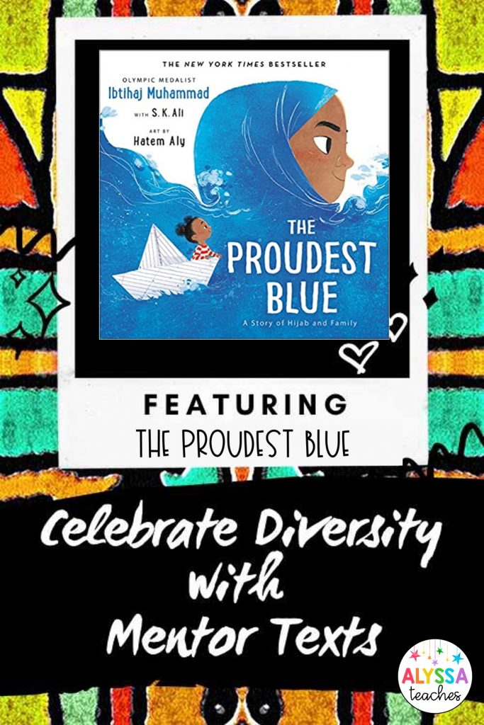 The Proudest Blue is a great mentor text to use with 3rd, 4th, and 5th grade students to teach conflict and resolution.