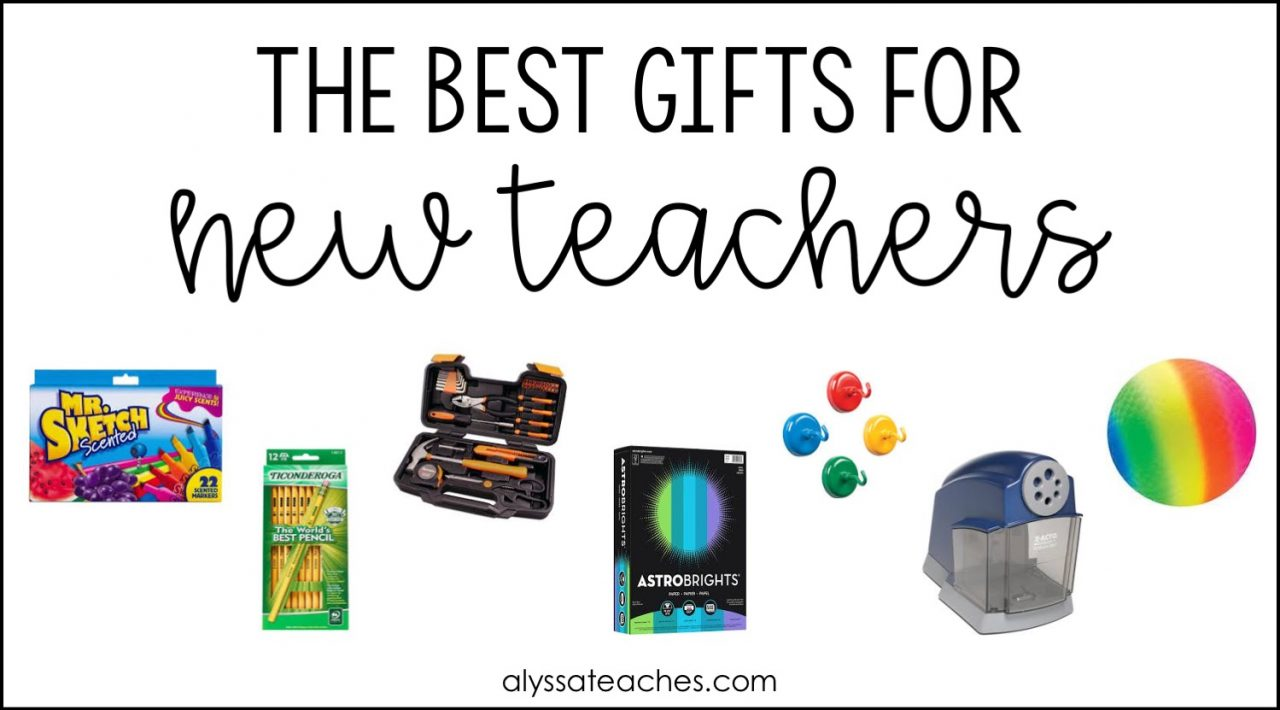 New teacher gift guide