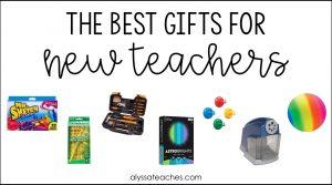 New teacher gift guide