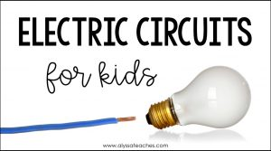 One of my favorite science units is electricity for kids. These electricity activities are easy and fun ways to teach series and parallel circuits to 4th and 5th graders!