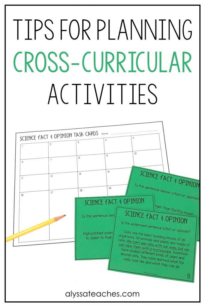 Planning cross-curricular activities for elementary students doesn't have to be complicated! Let's walk through some easy ways to get started!