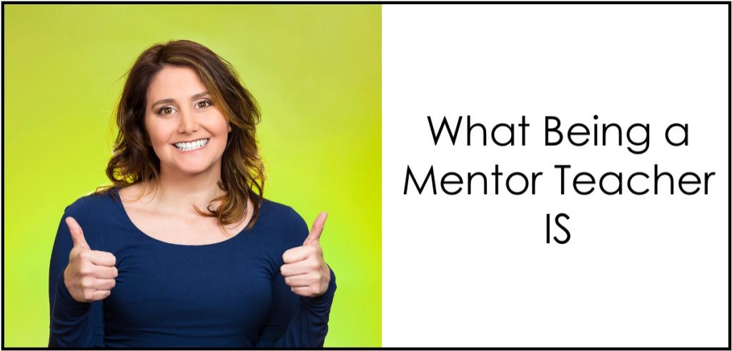 Let's take a look at what it means to be a teacher mentor to first-year educators.