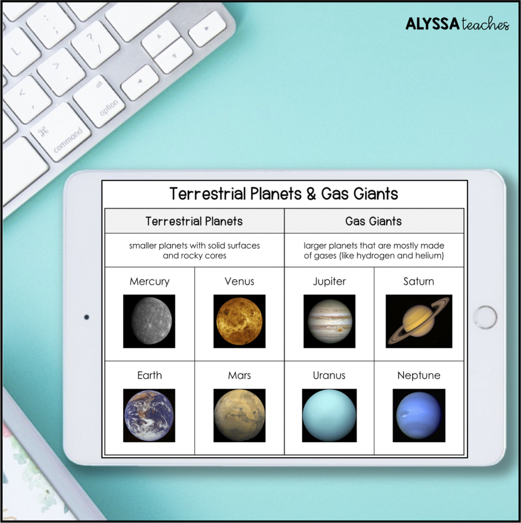 Another engaging spiral review activity is a digital sort. Students can move objects around the screen to practice vocabulary and skills they've learned during the year.
