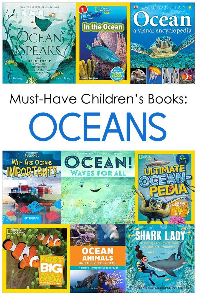 ocean books for upper elementary students