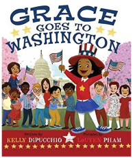 Grace Goes to Washington is a great picture book about teamwork.