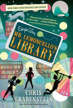 Mr. Lemoncello's Library is a great chapter book read-aloud about working together!